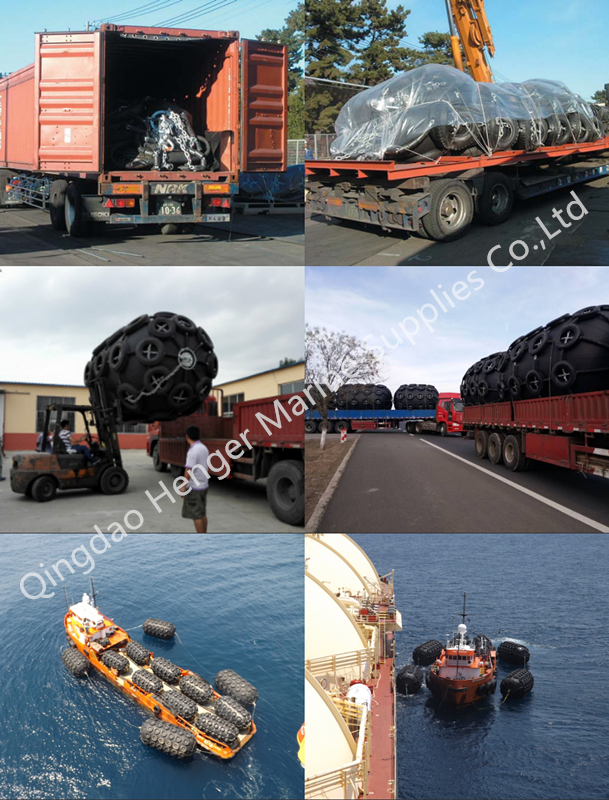 Customized Size Polyform Boat Fenders Floating Marine Dock Fenders Anti Friction